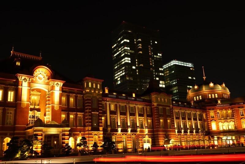 東京駅(夜景)