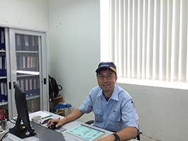 Tanifuji課長(品質保証課)