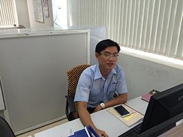 Thuan課長(輸出入,資材管理課)